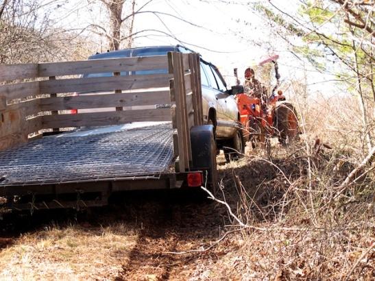 The tractor-burb-trailer train