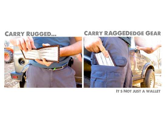 RAGGEDedge Gear wallet